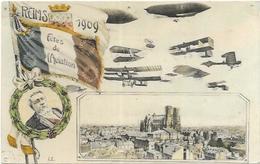 51. REIMS.    FETE DE L AVIATION EN 1909 - Reims