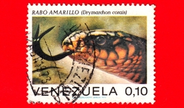 VENEZUELA - Usato - 1972 - Rettili - Serpenti - Drymarchon Corais - 0.10 - Venezuela