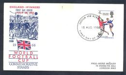 England 1966 Cover: Football Fussball Soccer Calcio FIFA World Cup 1966 England Jules Rimet Cup; England Winners - 1966 – Inglaterra