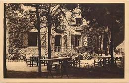 - Finistere - Ref-E177- Port Manech - Hotel Julia - Le Bar Americain -  Hotels - Carte Bon Etat - - Autres Communes