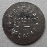 Monnaie De Nécessité - 42 - St Rambert Sur Loire - Pain - 5c - - Monetari / Di Necessità
