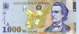 ROMANIA 1000 LEI 1998 P-106b UNC WMK: TILTING BNR. [RO266b] - Romania