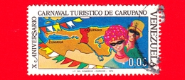 VENEZUELA - Usato - 1974 - 10 Anni Del Carnevale Di Carupano - 0.05 - Venezuela