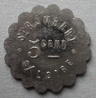Monnaie De Nécessité - 42 - St Rambert Sur Loire - Vin - 5c - - Monetari / Di Necessità