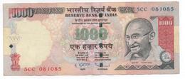 INDIA - 1000 Rupias --- Gandhi --- - India