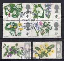 Great Britain - 1967 - British Wild Flowers - Used - Oblitérés