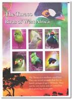 Liberia 2016, Postfris MNH, Birds - Liberia