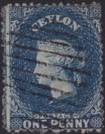 Ceylon    .   SG  .   39       .  O      .    Gebruikt       .   /    .   Cancelled - Ceylon (...-1947)