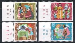SUISSE 1985 - **  - Y&T 1233-1236 - - Unused Stamps