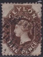 Ceylon    .   SG  .   42        .  O      .    Gebruikt       .   /    .   Cancelled - Ceylon (...-1947)