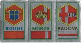 SCUDETTO MESTRINA-MONZA-PADOVA PANINI 1974/75 N° 603 Con Velina - Panini