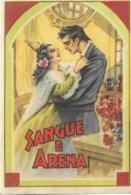 Calendarietto SANGUE E ARENA 1950 - Calendari