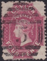 Ceylon    .   SG  .   65b        .  O      .    Gebruikt       .   /    .   Cancelled - Ceylan (...-1947)