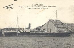 """CPA Bateau """"Dupleix"""" - Paquebots"""