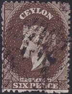 Ceylon    .   SG  .   55c        .  O      .    Gebruikt       .   /    .   Cancelled - Ceylon (...-1947)