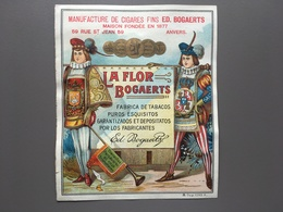 ANTWERPEN - Bogaerts - Sigaren - Cigares - Tabaco - Tabak - Publicités