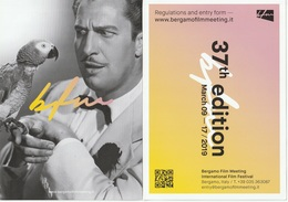 Bergamo Film Meeting, Cartolina Pubblicitaria Del International Film Festival, Bergamo - Musei
