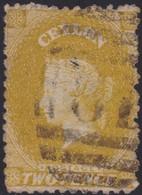 Ceylon    .   SG  .   64        .  O      .    Gebruikt       .   /    .   Cancelled - Ceylon (...-1947)