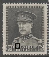 318** Accent Blanc Dessus 1er E Belgique  .. - Abarten Und Kuriositäten