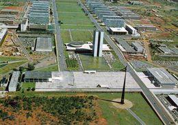 1 AK Brasilien * Platz Der Drei Gewalten Praça Dos Três Poderes In Brasilia - Seit 1987 UNESCO Weltkulturerbe - Brasilia