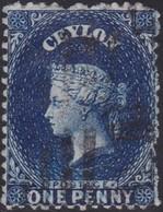 Ceylon    .   SG  .   63b       .  O      .    Gebruikt       .   /    .   Cancelled - Ceylon (...-1947)
