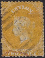 Ceylon    .   SG  .   64d       .  O      .    Gebruikt       .   /    .   Cancelled - Ceylon (...-1947)