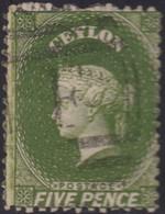 Ceylon    .   SG  .   66b       .  O      .    Gebruikt       .   /    .   Cancelled - Ceylon (...-1947)