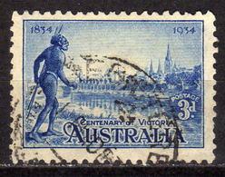 AUSTRALIEN 1934 - MiNr: 121 A Kolonisierung Victoria Used - 1913-36 George V: Sonstige Abb.