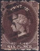 Ceylon    .   SG  .   67b         .  O      .    Gebruikt       .   /    .   Cancelled - Ceylon (...-1947)