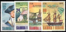 Samoa 1978 250th Birth Anniv Of Captain Cook Unmounted Mint. - Samoa