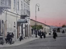ROUMANIE ROMANIA Cpa Postcard  - ROMAN - Animated Strada Lascar Catargiu - Romania
