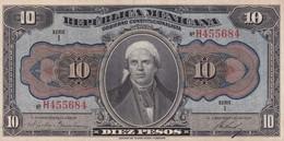Mexico República Mexicana 10 Pesos, - México
