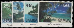 Samoa 1984 Scenic Views Unmounted Mint. - Samoa
