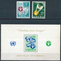 °°° LIBERIA - Y&T N°385 + 139 PA + 26 BF - 1963 MNH °°° - Liberia