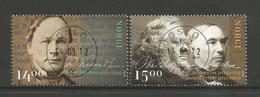 Norway 2012 Famous Norwegians Central Y.T. 1742/1743 (0) - Oblitérés