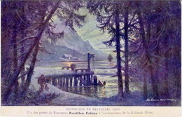 BRUXELLES - Exposition De 1910 - Fourrures REVILLON FRERES - Expositions
