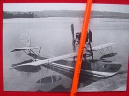 FOTOGRAFIA AEREO FBA A Cui E' Stat Tolta Lala Superiore E Usato Come CHECCA - Aviazione