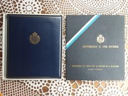 SAN MARINO - Libro Emesso Da San Marino Con I Francobolli Del 1977 Nuovi ** + Spese Postali - San Marino