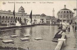 GAND-GENT - Exposition De 1913 - La Cour D'Honneur - Expositions