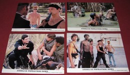 Stephen Lang BAND OF THE HAND Michael Carmine 4x Yugoslavian Lobby Cards - Photographs