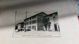 B5/CELLES-SUR-DUROLLE- Hôtel De La Grande Bergère - France