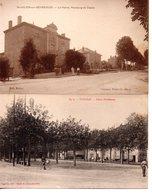 Ain : Lot De 10 Cartes De Petits Villags - Francia