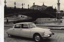 Citroen DS19 Grand Palais A Paris  -  1963  -   Carte Postale - Voitures De Tourisme