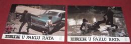 Stephen McHattie ONE MAN OUT Deborah Van Valkenburgh 2x Yugoslavian Lobby Cards - Foto's
