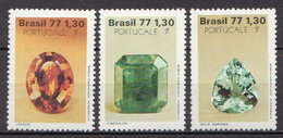Brazil MNH Set - Minerals