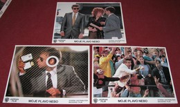 Steve Martin MY BLUE HEAVEN Rick Moranis - 3x Yugoslavian Lobby Cards - Photographs