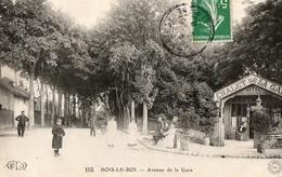 BOIS LE ROI, Avenue De La Gare - Bois Le Roi