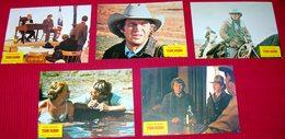 Steve McQueen TOM HORN Linda Evans 5x Yugoslavian Lobby Cards - Photographs