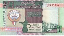 Kuwait P.24  1/2 Dinar 1994 Unc - Kuwait