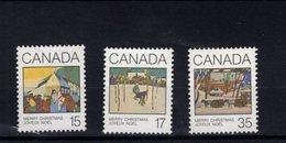 746027861 POSTFRIS  MINT NEVER HINGED EINWANDFREI SCOTT 870 871 872 CHRISTMAS GREETING CARDS 1931 - 1952-.... Regering Van Elizabeth II
